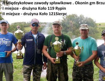 Zawody Między kołowe - Koło 119 Rypin oraz Koło 121 Sierpc